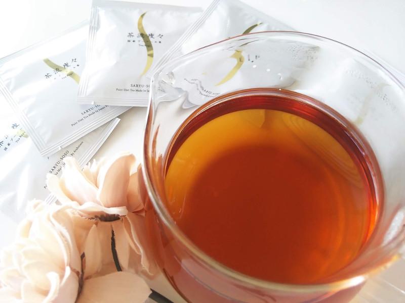国産プーアール茶茶流痩々