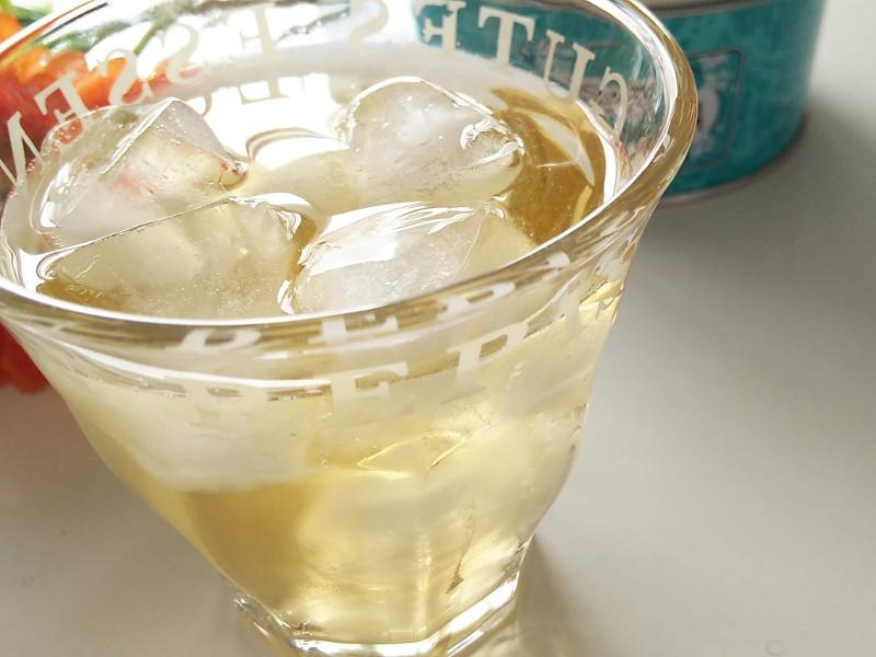 クスミティーアイスの飲み方
