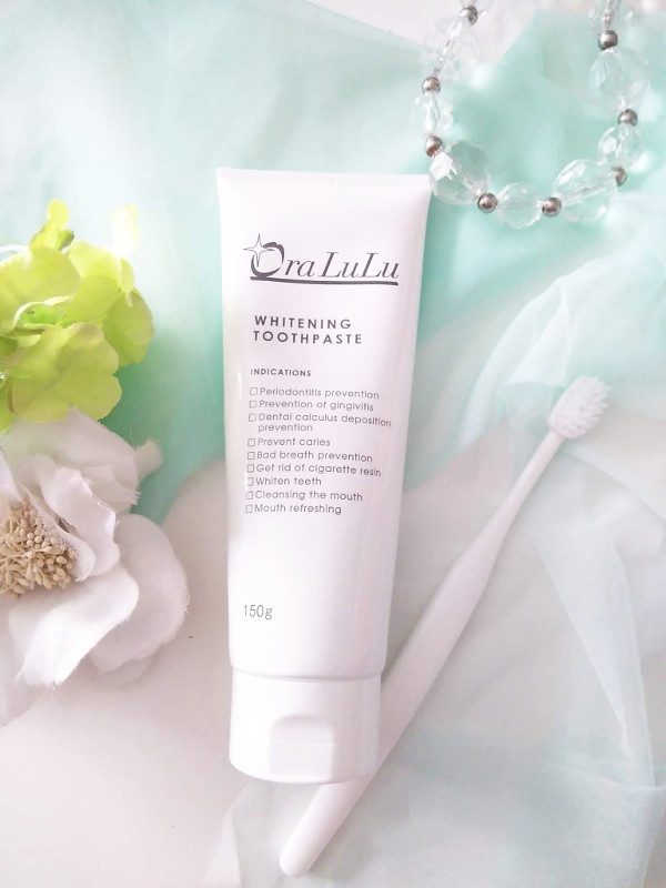オーラルルホワイトニング歯磨き粉口コミ
