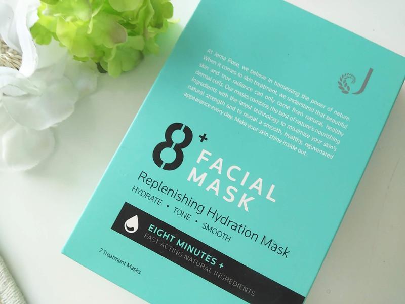 8+ フェイシャルマスク ハイドレーションのレビュー