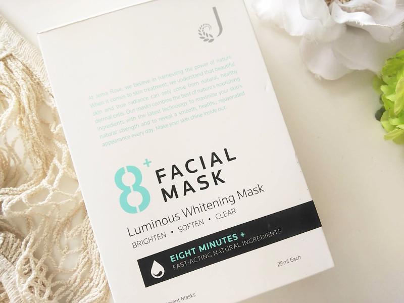 8+ フェイシャルマスク ルミナス ホワイトニングのレビュー