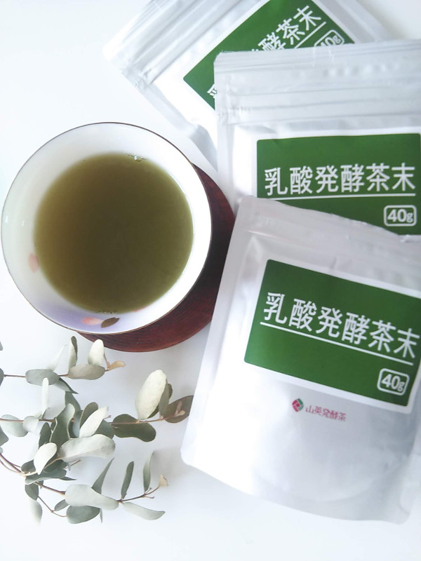 山英乳酸発酵茶口コミ
