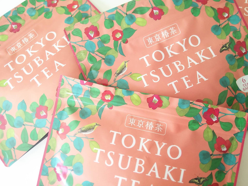 東京椿茶飲み方