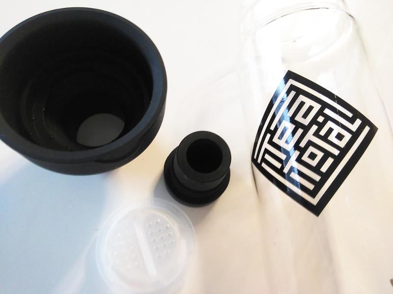 Teatotalロゴがおしゃれなハリオのフィルターインボトル